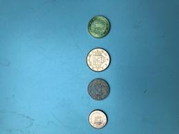 MONNAIE MALTE - 4 Pièces De Monnaie De 1, 2, 5 Et 10 Centimes D'euro - Malta
