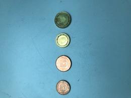 MONNAIE MALTE - 4 Pièces De Monnaie De 2, 5, 10 Et 20 Centimes D'euro - Malta