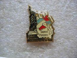 Pin's De La Participation Des Sapeurs Pompiers Du CSP D'Epinal Au Marathon De NEW YORK - Non Classés