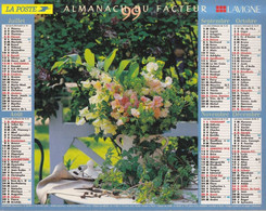 Calendrier Des Postes PTT 1999, VAUCLUSE: Dozulé (14), Angles (86), Talmont (71), Bandol (83, 5 Photos Sur Carton Souple - Calendriers