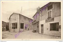 26. SAINTE JALLE .  La POste Et Les Hotels . ( Hotel Café VEYNE ) - Francia