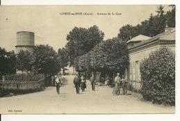 02 - CONDE EN BRIE / AVENUE DE LA GARE - France