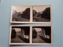 BRUGGE - BRUGES > Speelmansrei / Ingang Begijnhof ( Série N° II ) ANTWERP Stereo ( Zie / Voir Photo Pour Detail ) ! - Photos Stéréoscopiques