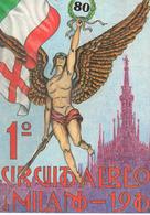 80° Anniversario Circuito Aereo Di Milano 1910 - 1990 - Aerodromi