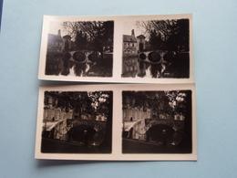 BRUGGE - BRUGES > Gruuthuuze / Kanaal/Brug Begijnhof ( Série N° II ) ANTWERP Stereo ( Zie / Voir Photo Pour Detail ) ! - Photos Stéréoscopiques