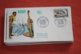 Lot De +- 200 Enveloppes - FDC