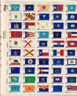 USA STATI UNITI D'AMERICA 1976 - BANDIERE DEI 50 STATI - BICENTENARIO DELLA RIVOLUZIONE - MNH** - Nuevos