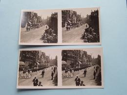 ANTWERPEN 21 Juli 1929 > Cadetten & Schoolkinderen ( Série N° 2 ) ANTWERP Stéréo ( Zie / Voir Photo Pour Detail ) ! - Photos Stéréoscopiques
