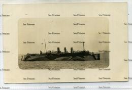 Canadian Pacific Line HMS Princess Margaret Minelayer Dazzle Paint Scheme  Minelayer Postcard - Paquebots