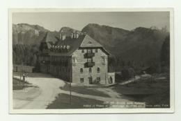 STRADA DELLE DOLOMITI - HOTEL AL PASSO DI COSTALUNGA COL CIMON DELLA PALA - VIAGGIATA  FP - Trento