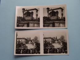 ANTWERPEN ( Série N° 5 > Gedenksteen Oorlog N° 6 >Waterpoort/Scaldis ) ANTWERP Stéréo ( Zie / Voir Photo Pour Detail ) ! - Photos Stéréoscopiques
