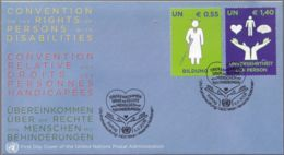 UNO WIEN 2008 Mi-Nr. 543/44 FDC - FDC