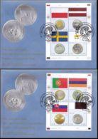 UNO WIEN 2008 Mi-Nr. 530/37 FDC - FDC