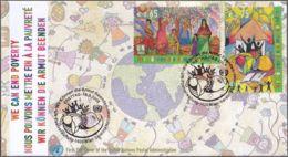 UNO WIEN 2008 Mi-Nr. 548/49 FDC - FDC