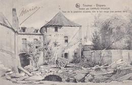 619 Tournai Disparu Tour De La Premiere Enceinte Dite Le Fort Rouge Rue Perdue 1872 - Tournai