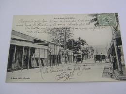 C.P.A.- Nouvelle Calédonie - Nouméa - Rue De Rivoli - 1910 - SUP (CE 100) - Nouvelle Calédonie