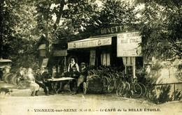 13970  - Essonne  - VIGNEUX Sur SEINE  - LE CAFE DE LA BELLE ETOILE  - RESTAURANT  Belle Animation - Métier - Vélos Cir - Vigneux Sur Seine