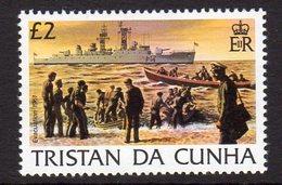Tristan Da Cunha QEII 1983 Island History Definitives £2 Value, MNH, SG 360 - Tristan Da Cunha