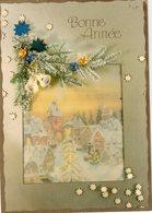 1631 - BONNE ANNEE  - Paysage D'hiver - Nieuwjaar