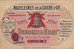 MADELAINES DE LA CLOCHE D'OR , à COMMERCY , Fondée En 1760 Carte Postale Dépliant (lot 56) - Advertising