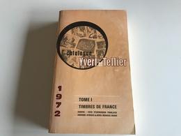 Catalogue YVERT & TELLIER - Timbres De FRANCE - 1972 - France