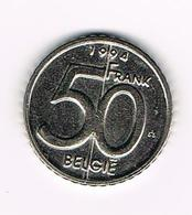 //  BELGIE ALBERT II  50 FRANK  1994 VL - 05. 50 Francs
