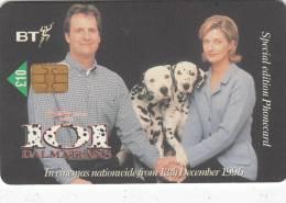 UK - Disney/101 Dalmatians/Happy Family(PUB036) 10 Pounds, Exp.date 06/98, Used - Disney