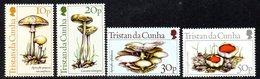 Tristan Da Cunha QEII 1984 Fungi Set Of 4, MNH, SG 369/72 - Tristan Da Cunha