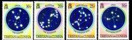 Tristan Da Cunha QEII 1984 The Night Sky Set Of 4, MNH, SG 373/6 - Tristan Da Cunha