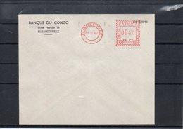 CONGO - RED METER MARK - KATANGA - UNIVERSAL  U-25 - PROOF - 1962 - UN2 - 1947-60: Lettres