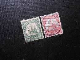 D.R.25/26a   5/10Pf   Deutsche Kolonien (Deutsch-Südwestafrika) 1906 - Mi 3,50 € - Colony: German South West Africa