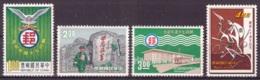 Taiwan 1966 - MNH ** / MH * - Poste - Michel Nr. 595-598 Série Complète (tpe658) - 1945-... República De China