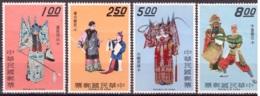 Taiwan 1970 - MNH ** - Théâtre - Michel Nr. 770-773 Série Complète (tpe661) - 1945-... République De Chine