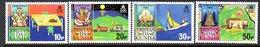 Tristan Da Cunha QEII 1984 Christmas Set Of 4, MNH, SG 382/5 - Tristan Da Cunha