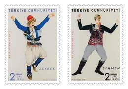 TURKEY/2019 - TURKISH FOLK DANCES, MNH - Nuevos