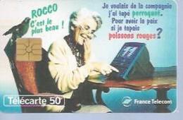 TELECARTE 50 UNITES - ROCCO - LE 11 - 07 / 1995 - GEM - 1995