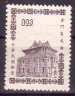 Taiwan 1964 - MNG - Bâtiments - Michel Nr. 514 (tpe672) - 1945-... Republik China