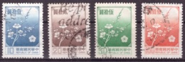 Taiwan 1979 - Oblitéré - Fleurs - Michel Nr. 1291-1294 Série Complète (tpe710) - Gebraucht