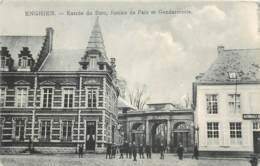 Belgique - Enghien - Entrée Du Parc , Justice De Paix Et Gendarmerie - Enghien - Edingen