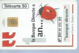 TELECARTE 50 UNITES - BANQUE DIRECTE - 08 / 1995 - SO3 - 1995