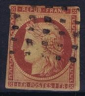France Yv 6b  Obl./Gestempelt/used   1849 Has Some Thin Spots - 1849-1850 Cérès