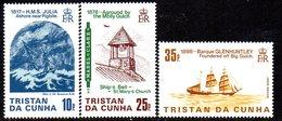 Tristan Da Cunha QEII 1985 Shipwrecks I Set Of 3, MNH, SG 386/8 - Tristan Da Cunha