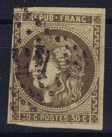 France Yv 47 Obl./Gestempelt/used - 1870 Uitgave Van Bordeaux