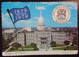 LANSING, Michigan - The State Capitol Building - Vg - Lansing