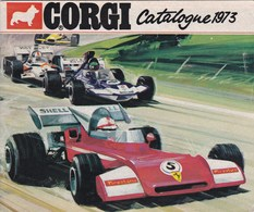 """Catalogue Jouets """""""" CORGI 1973 """""""",surtout Voitures Et Camions ,complet 39 Pages (lot 54) - Andere Verzamelingen"""