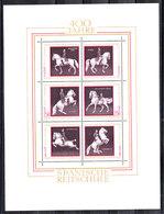 Austria  - 1972. Scuola Spagnola Di Equitazione. Spanish Riding School. MNH Sheet - Ippica