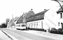 SNCN Tram Naar Moeskroen 1962 Foto  KORTRIJK - Kortrijk