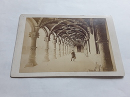 GRANDE GROTE ORGINELE FOTO 17 CM OP 11 CM LUIK LIEGE PALAIS DE JUSTICE 1880 - Ancianas (antes De 1900)