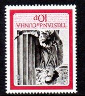 Tristan Da Cunha 1986 Queen's 60th Birthday 10p Value, Watermark Inverted, MNH, SG 406w - Tristan Da Cunha