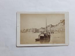 GRANDE GROTE ORGINELE FOTO 17 CM OP 11 CM LUIK LIEGE 1880  QUAI DE LA BATTE - Ancianas (antes De 1900)